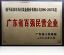 2006-2007广东省百强民营企业