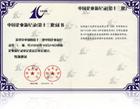 中国企业新记录证书