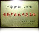 广东省中小企业创新产业化示范基地
