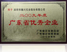 2009 Guangdong Province Outstanding Honor