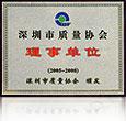 Shenzhen Bureau of Quality Association unit