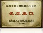 深圳市群众性经济技术创新先进单位